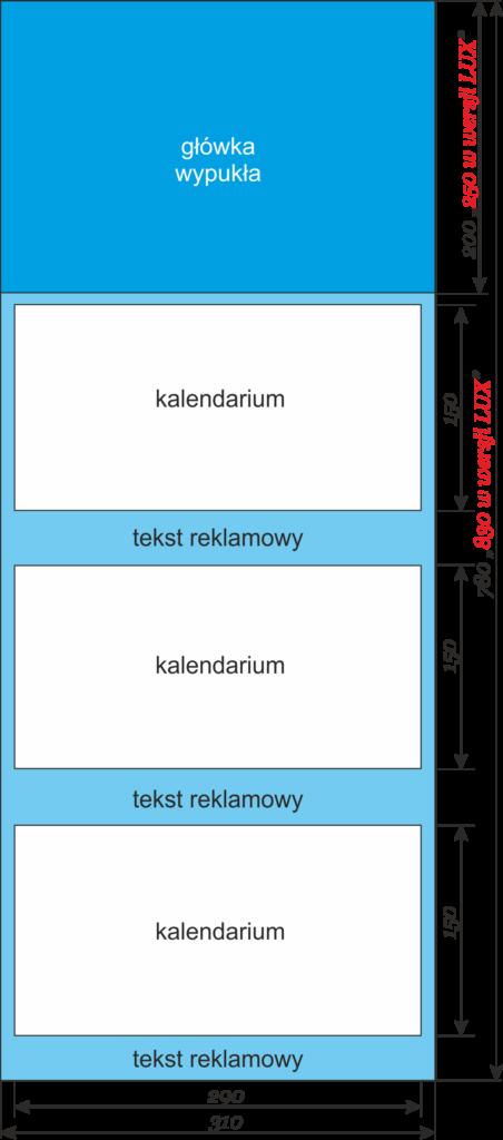kalendarz szablon
