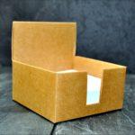 kartki w pudełku eko
